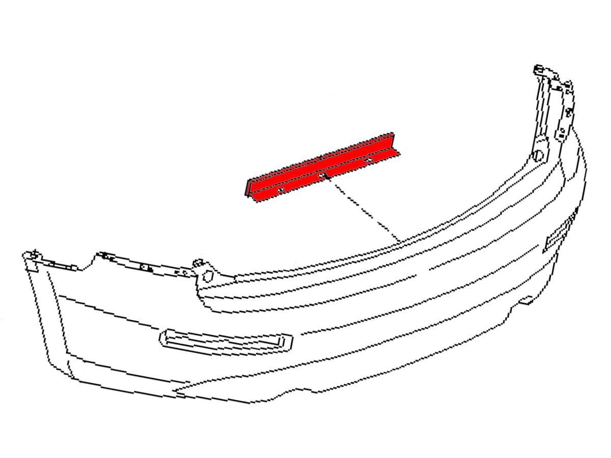 oem fx35    fx45 rear fascia protector   z1 motorsports