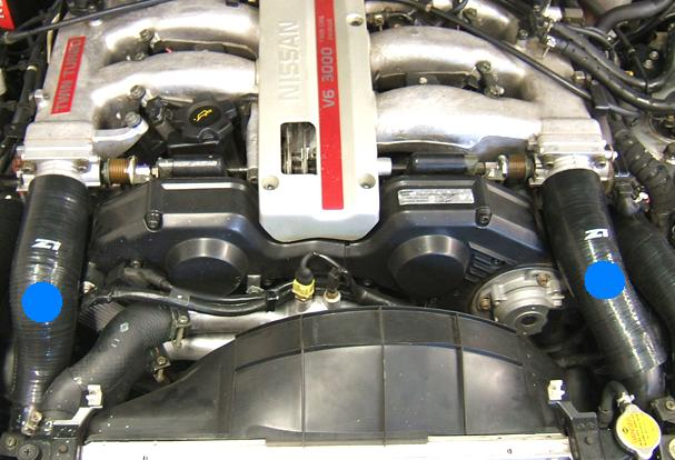 Z1 Silicone 300zx  Z32  Tt Throttle Body Only Intake  U0026quot Boost U0026quot  Hoses  Performance Oem And