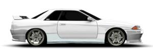 Nissan Skyline Coupe Sedan R32 GTR GT-R BNR32 HCR32 HNR32 ER32 HR32 FR32 GTS-4 GTS4 GTS-T GTST GTS
