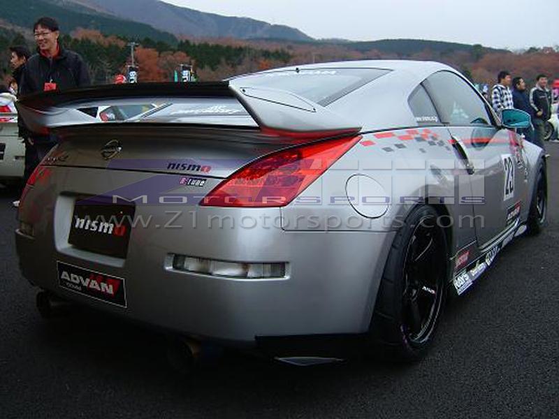 Nismo V 2 E Type Rear Spoiler 350z Z1 Motorsports