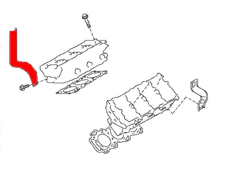 oem passenger side engine slinger  z1 motorsports