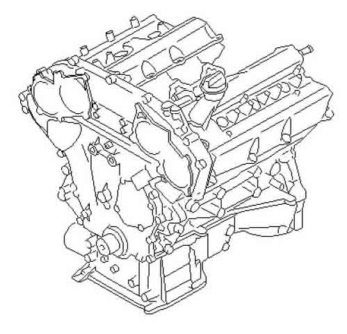 Oem Vq35 Longblock Z1 Motorsports