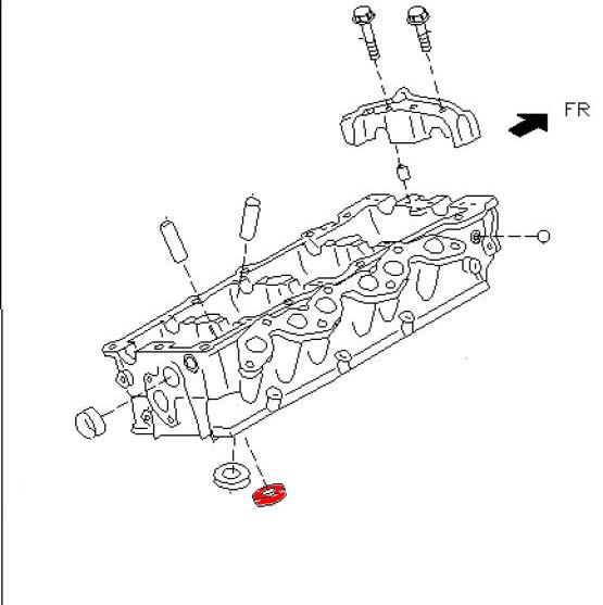 Oem Vq Exhaust Valve Seat Z1 Motorsports
