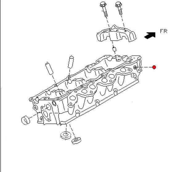Oem Oil Gallery Plug Z1 Motorsports