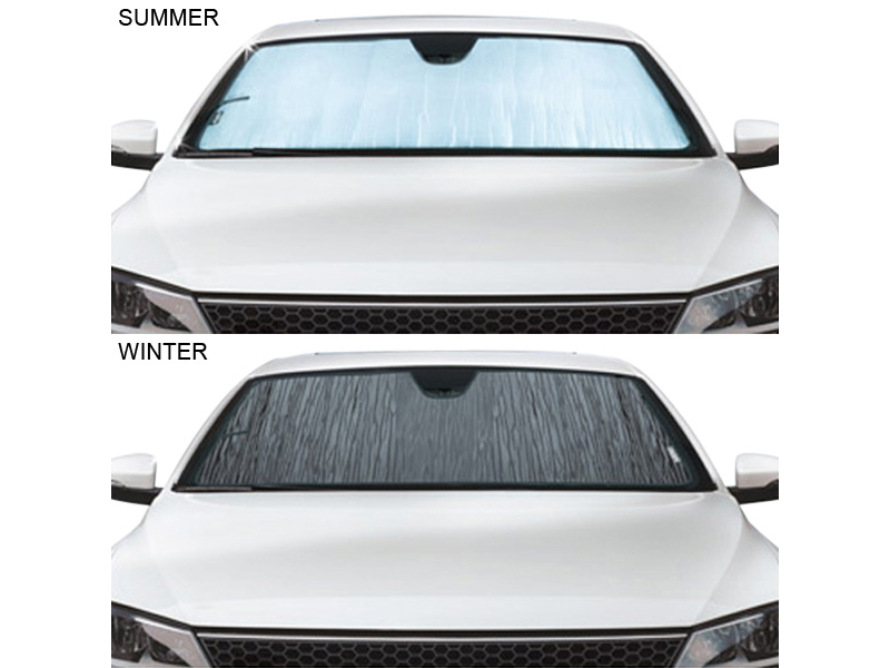... the TechShade can keep your vehicle cool in the summer and help prevent  frost build-up in the winter. Reflective film chases the sun away in ... 4ad2cd4c888