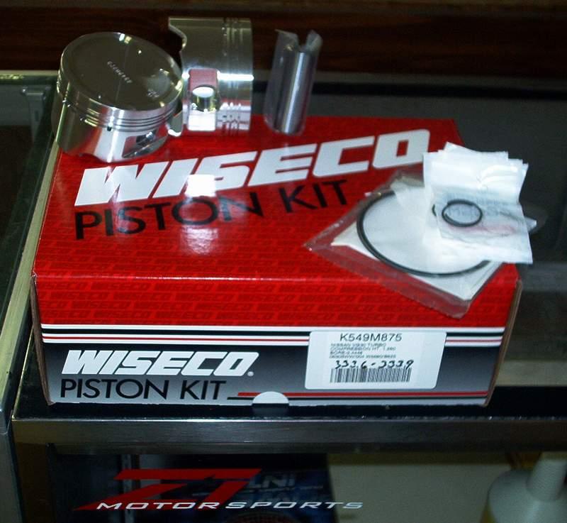 Wiseco Forged Piston SR20DET Kit