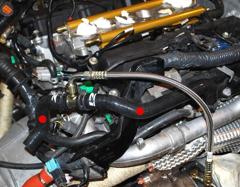 Z1 350Z / G35 Silicone Heater Hose Set - VQ35DE